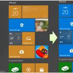 Windows10でスタートメニューのタイルや設定画面の色を変更する方法